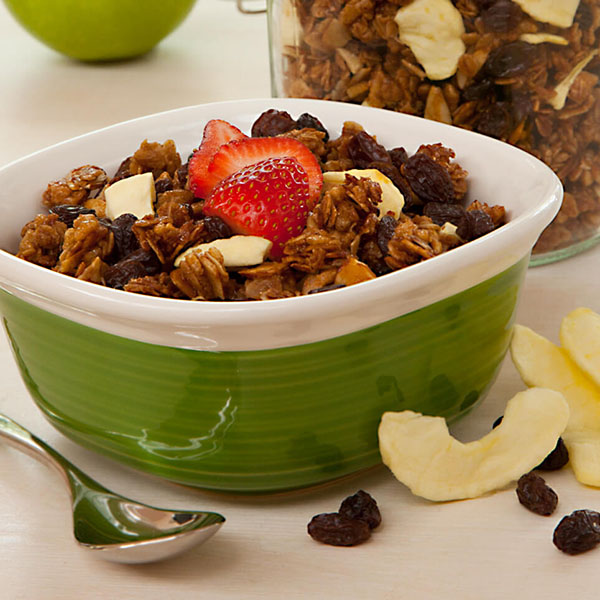 Raisin-Apple-Granola